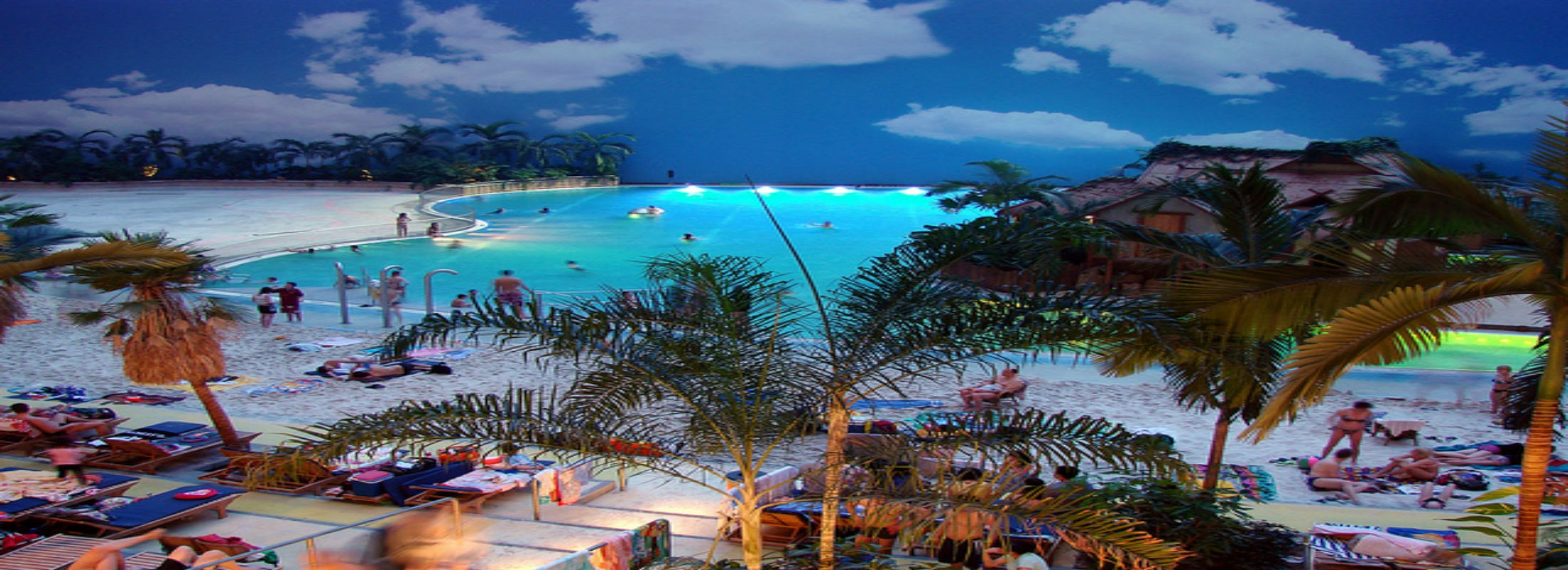 Аквапарк  Tropical Islands