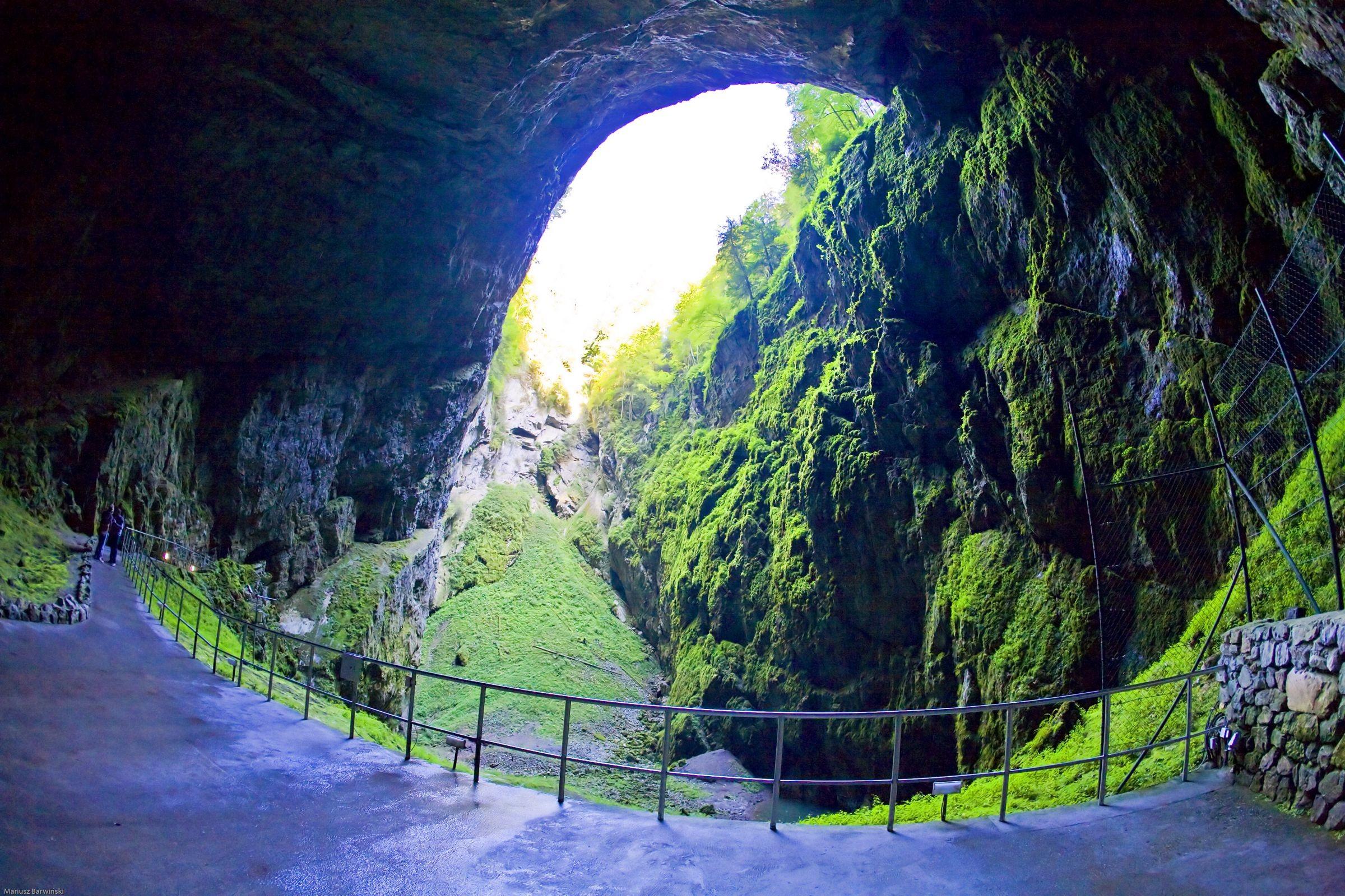 Моравский Карст. Пещера Мацоха