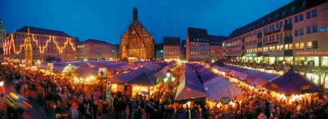 Нюрнберг столица Рождества