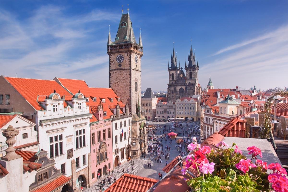 Автобусно-пешеходная экскурсия по Праге