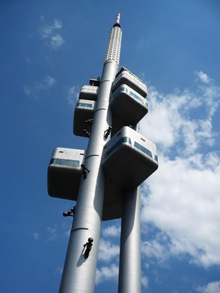 Жижковская телевизионная башня