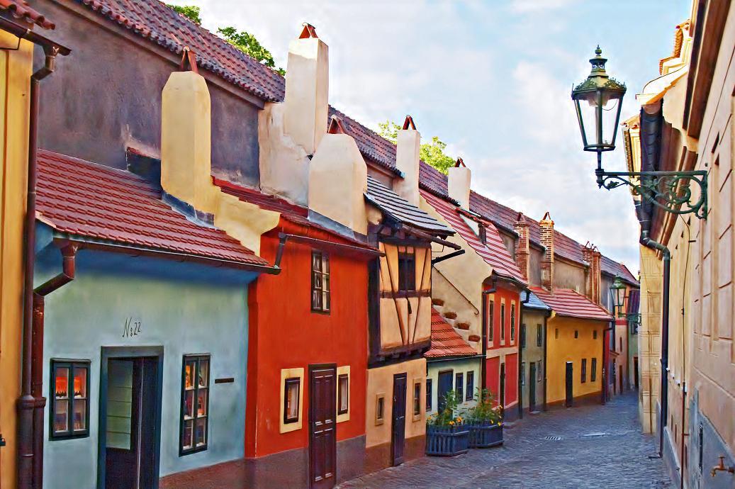 Злата уочка в Праге