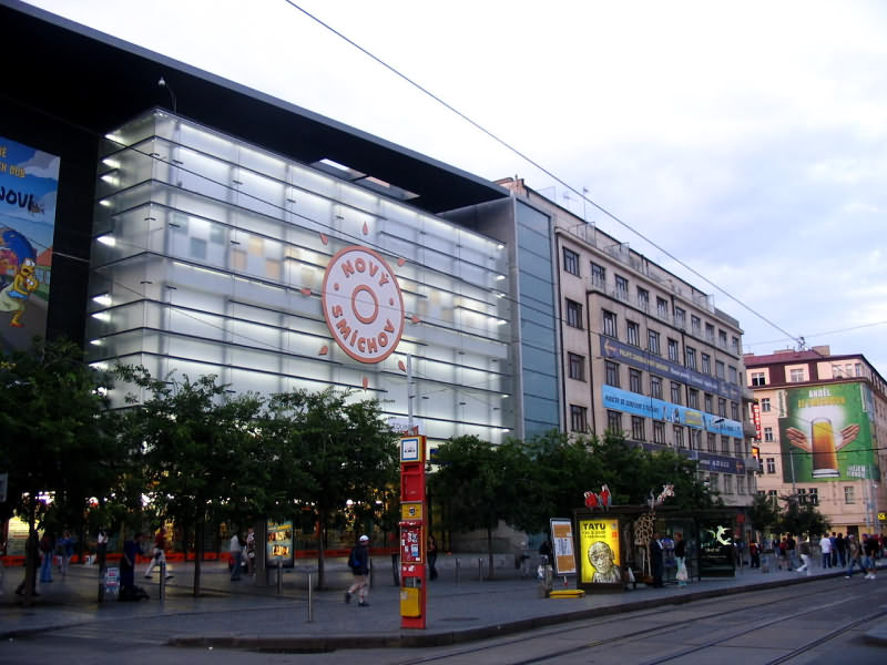 магазин Новый Смихов в Праге