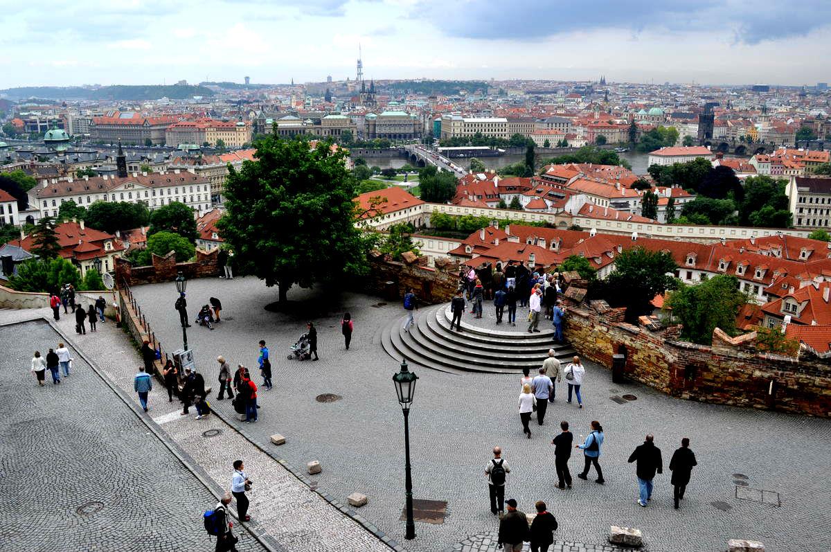 смотровая площадка Пражского Града