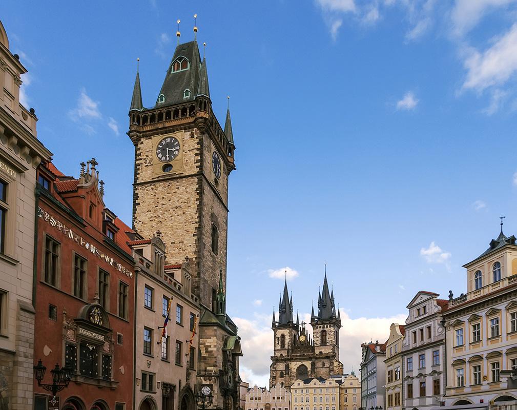 Обзорная башня Староместской ратуши